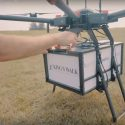 A golf course drone delivery service at a course in North Dakota.