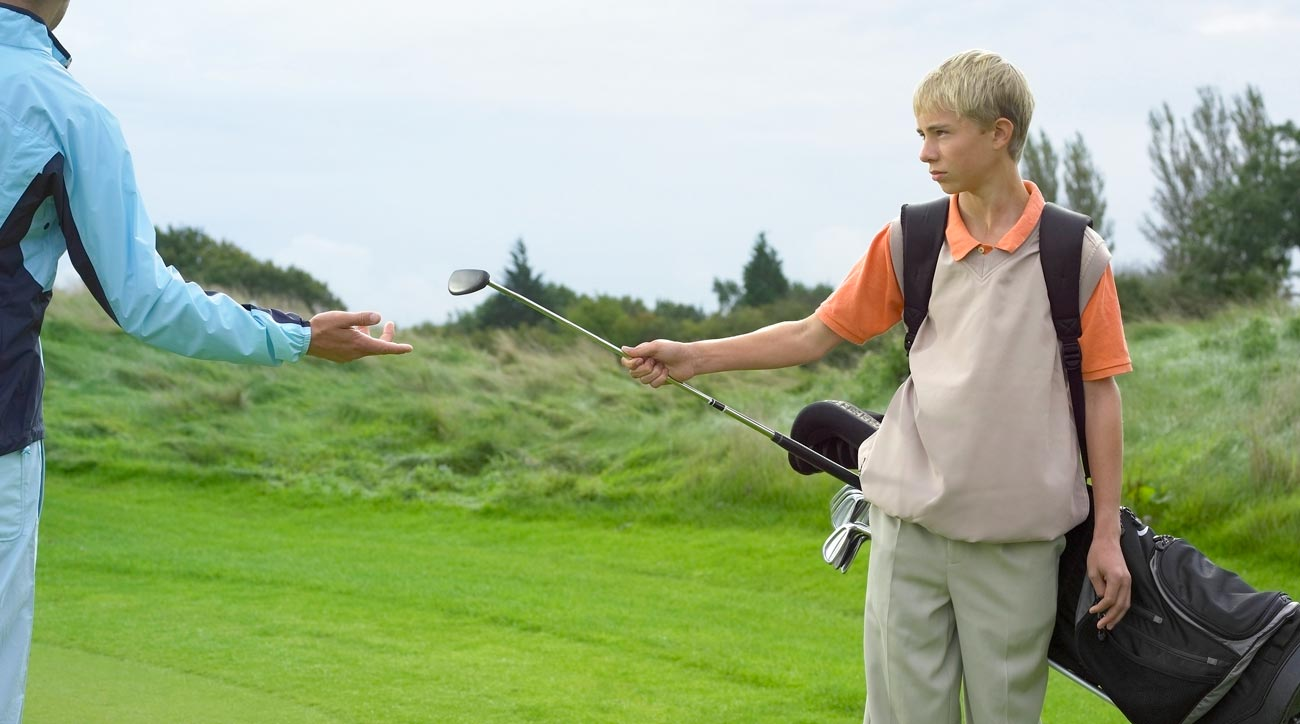 Golf tipping is required with golf caddies.