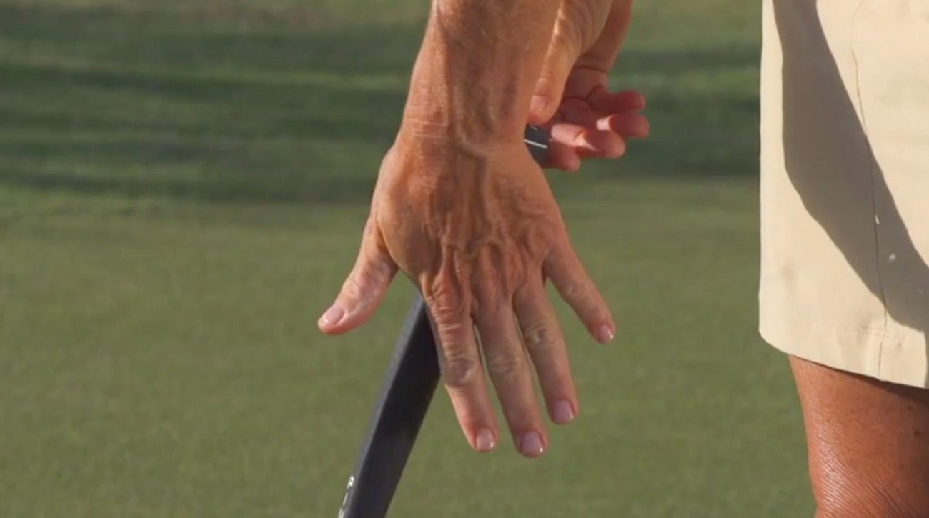 Learn how to grip your putter in this video.