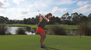 Learn how to swing on plane in golf with this video.