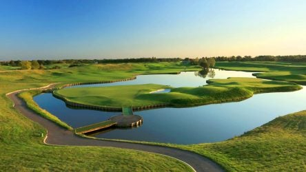Le Golf National's Albatross golf course, home of 2018 Ryder Cup.