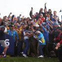 When Molinari sealed the deal on 15, the galleries expressed their appreciation.