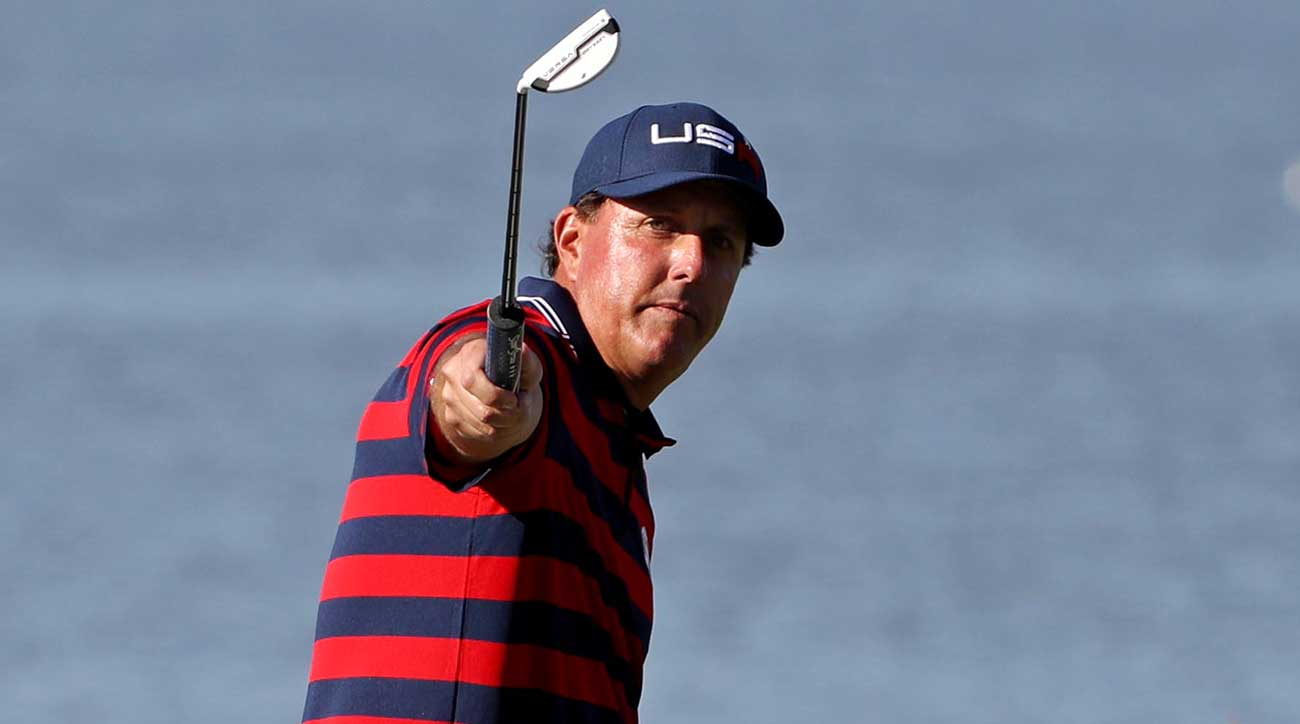 Phil Mickelson has been a U.S. Ryder Cup mainstay
