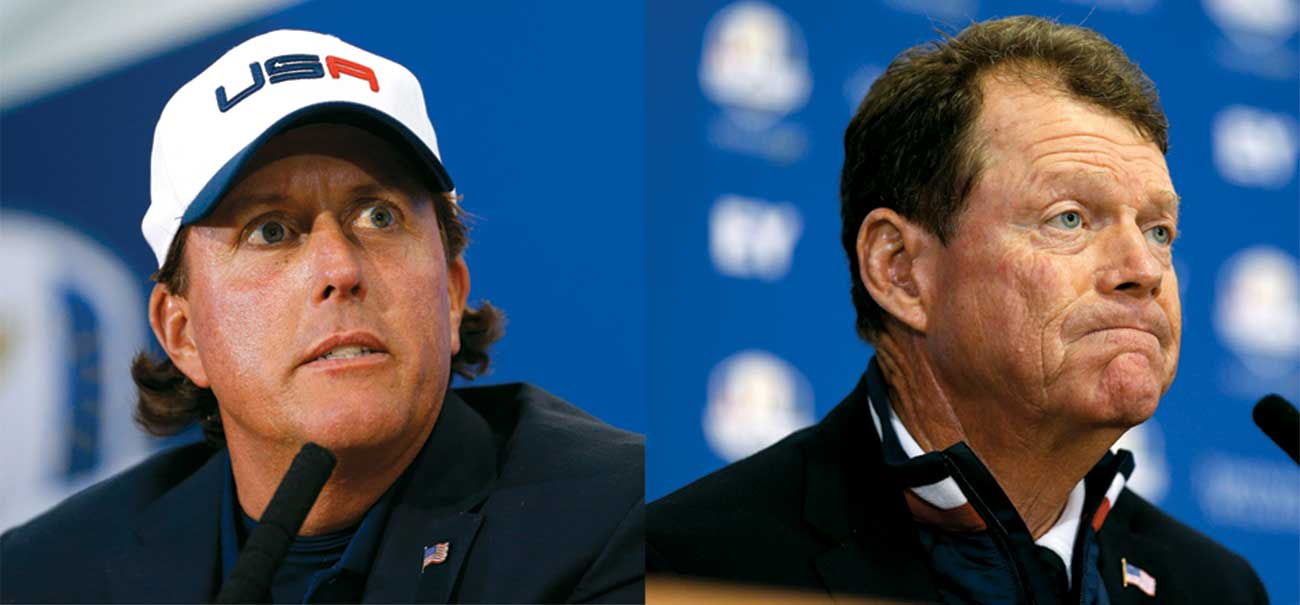 At the notorious Sunday night press conference, Mickelson let fly—with Watson just feet away.