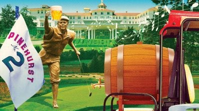 Don't look now but Pinehurst is no longer the venerable and fusty resort you once knew