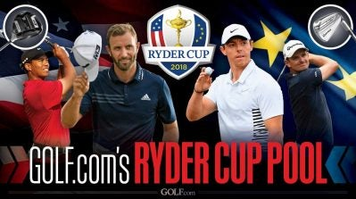 Enter GOLF.com's Ryder Cup pool for a chance to win a set of TaylorMade P790 irons
