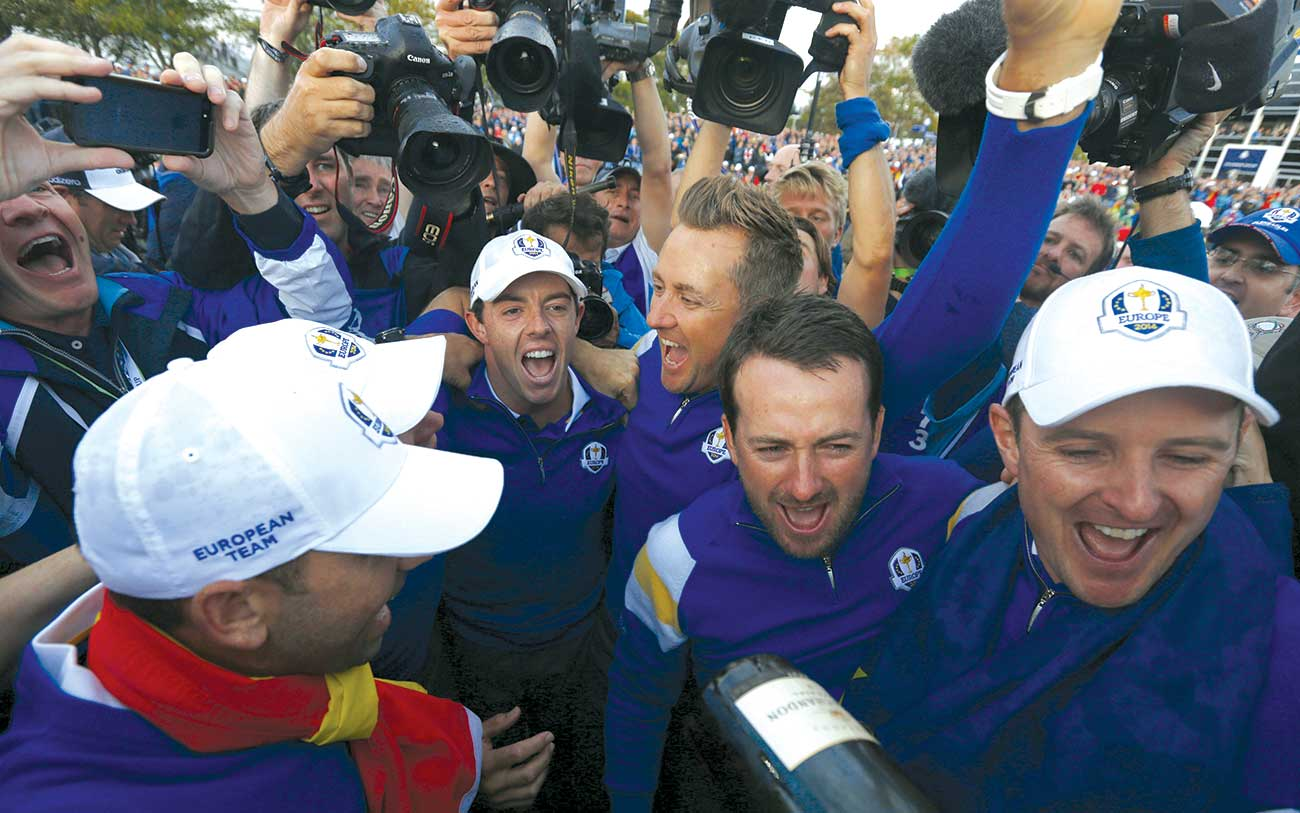 At Gleneagles, the Euros celebrated their sixth Cup win in the previous seven meetings.