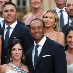 Ryder Cup players and their wives and girlfriends at the Ryder Cup Gala.