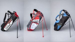 Six new golf bags that are light and organized.