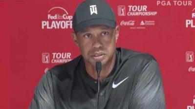 Tiger Woods on new Tour Championship format: 'Pretty simple, pretty straightforward'