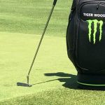 Tiger Woods had his Scotty Cameron putter at the BMW Championship.