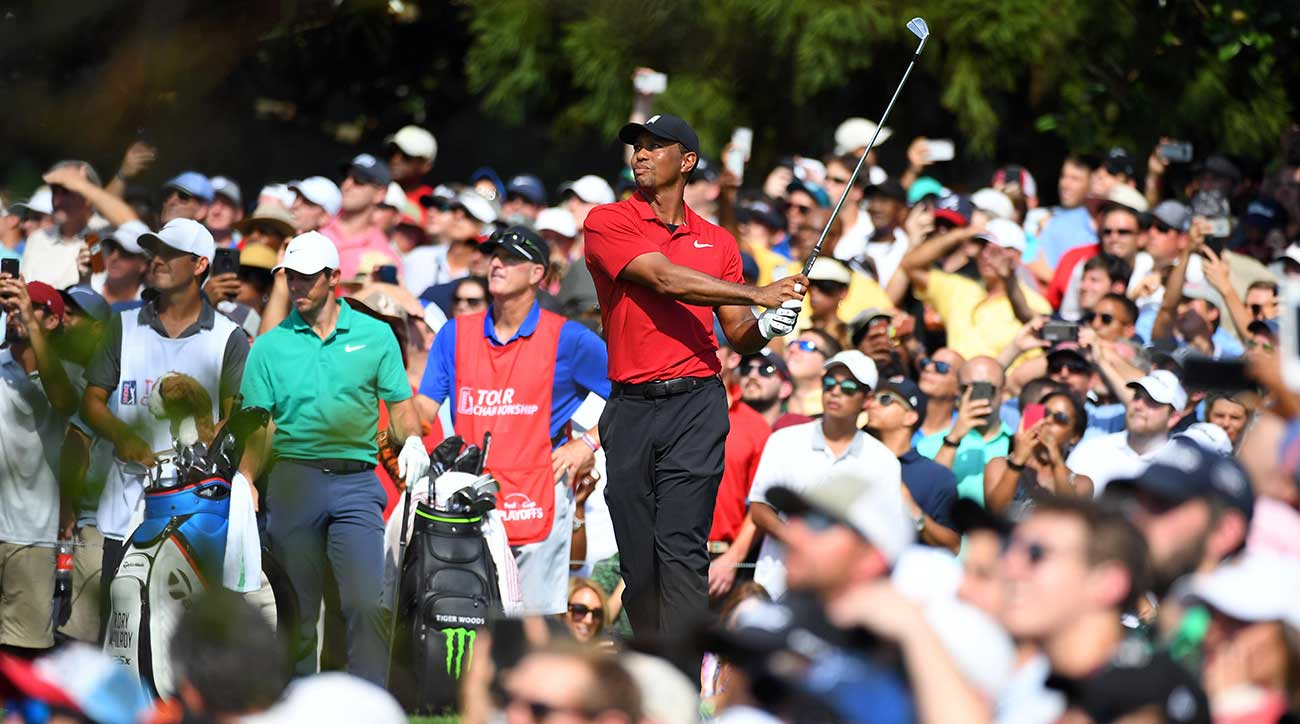 fe50208f3dd16 Tiger Woods wins Tour Championship for first victory since 2013