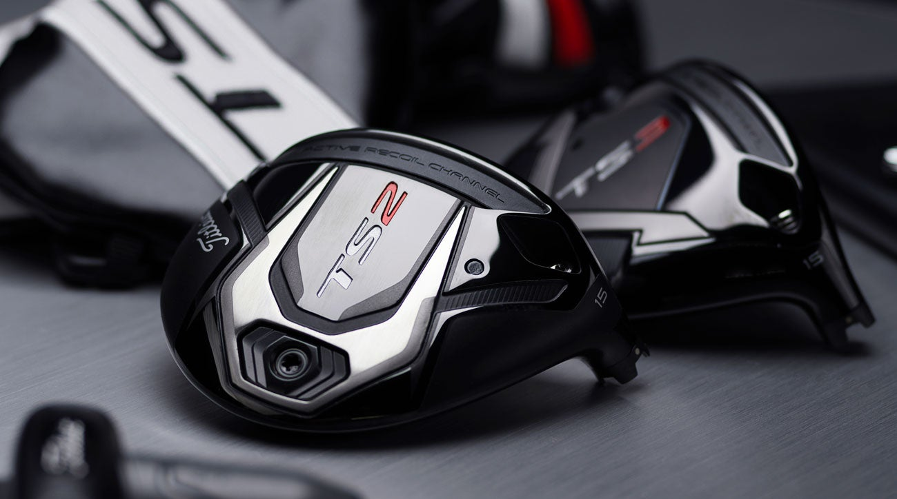 The new Titleist TS fairway woods.