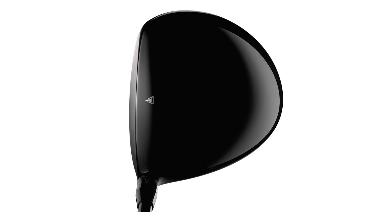 A view of the Titleist TS2 driver in playing position.
