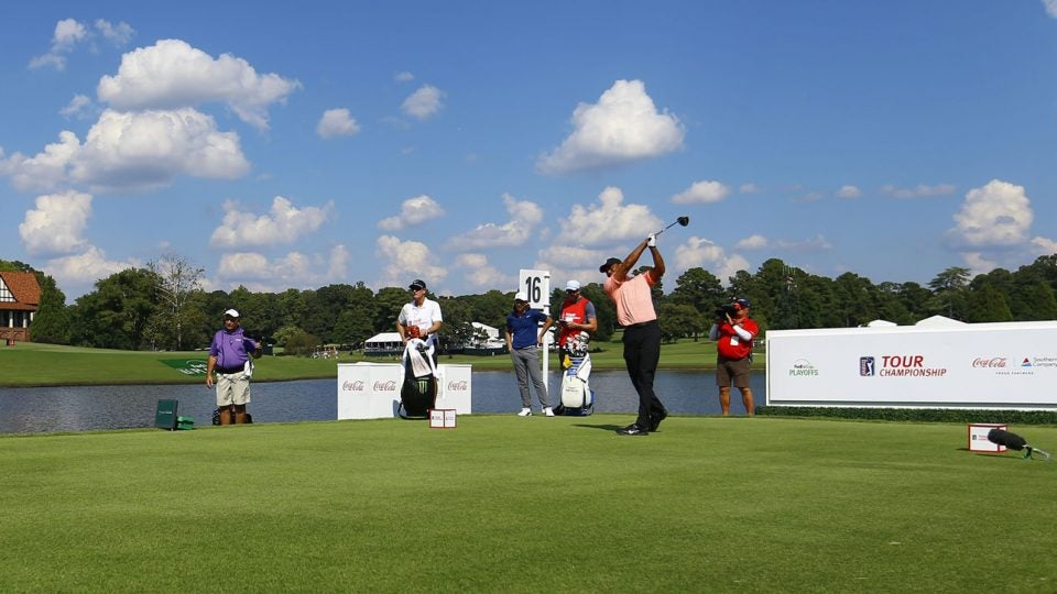 See Tour Championship second round tee times here.