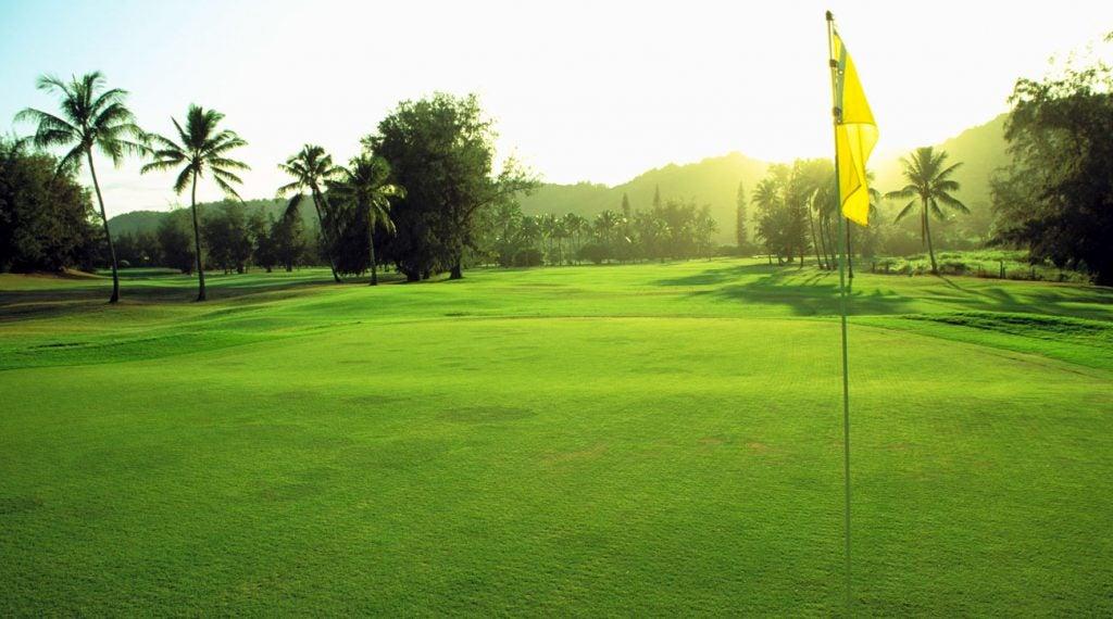 wailua municipal golf course