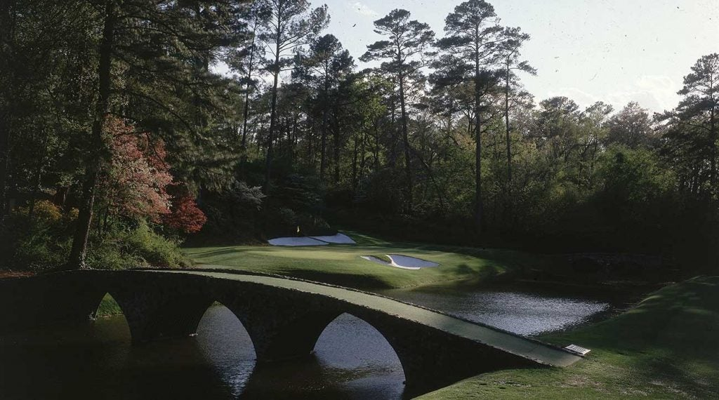 The 12th hole at Augusta National is the course's most iconic.