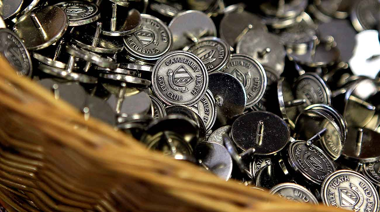 Ball markers - golf pro shop