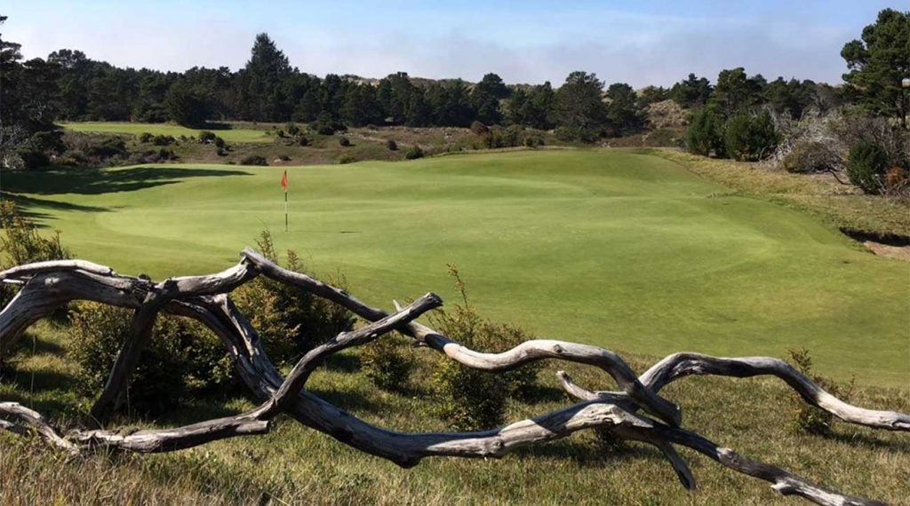 Bandon Dunes Golf Resort hole.