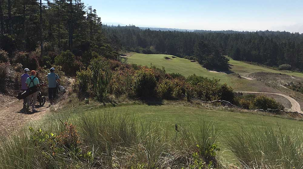 The 14th hole at Bandon Trails.