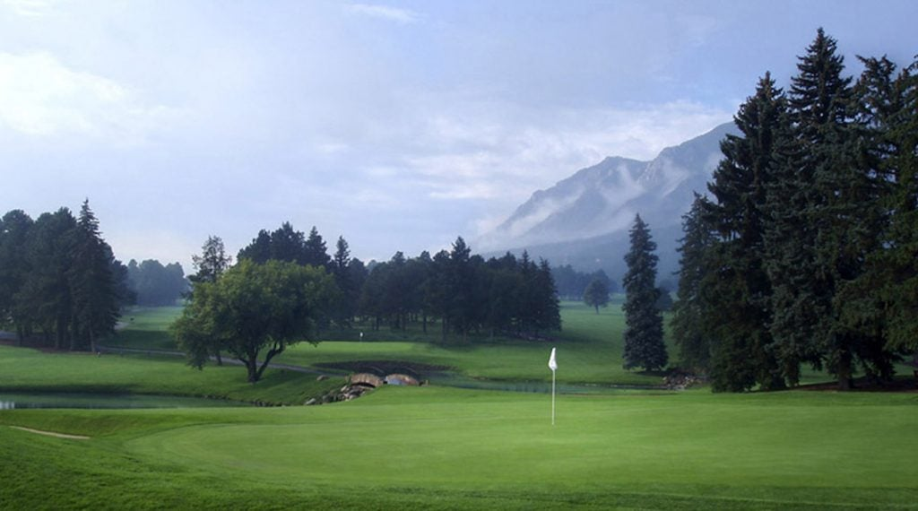 The East course at the Broadmoor is the second-ranked public course in Colorado.