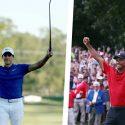 Tiger Woods cam Champ