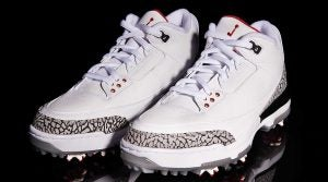 Air Jordan III golf shoe