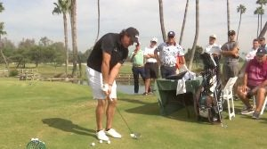 Phil Mickelson, golf lesson, charity clinic
