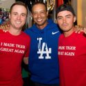 Tiger Woods, Justin Thomas, Rickie Fowler