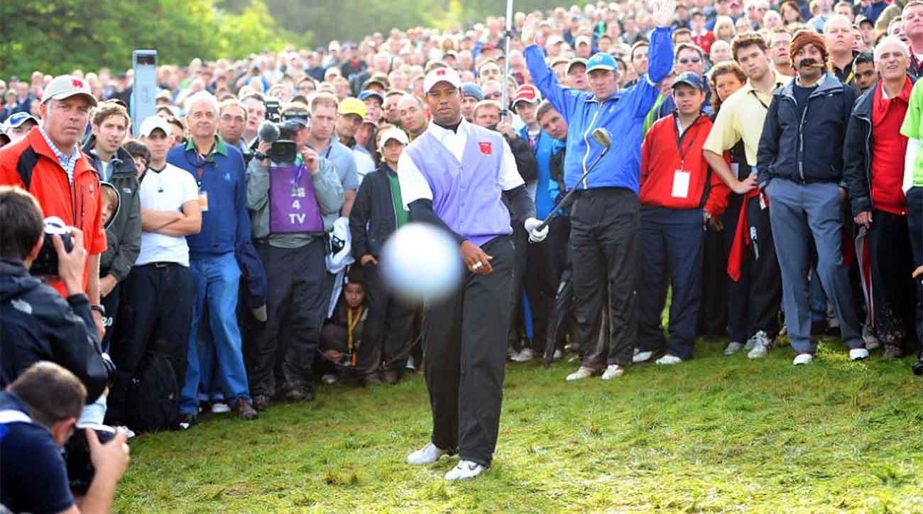 Tiger Woods, 2010 Ryder Cup