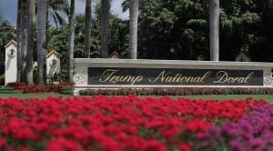 trump national doral golf