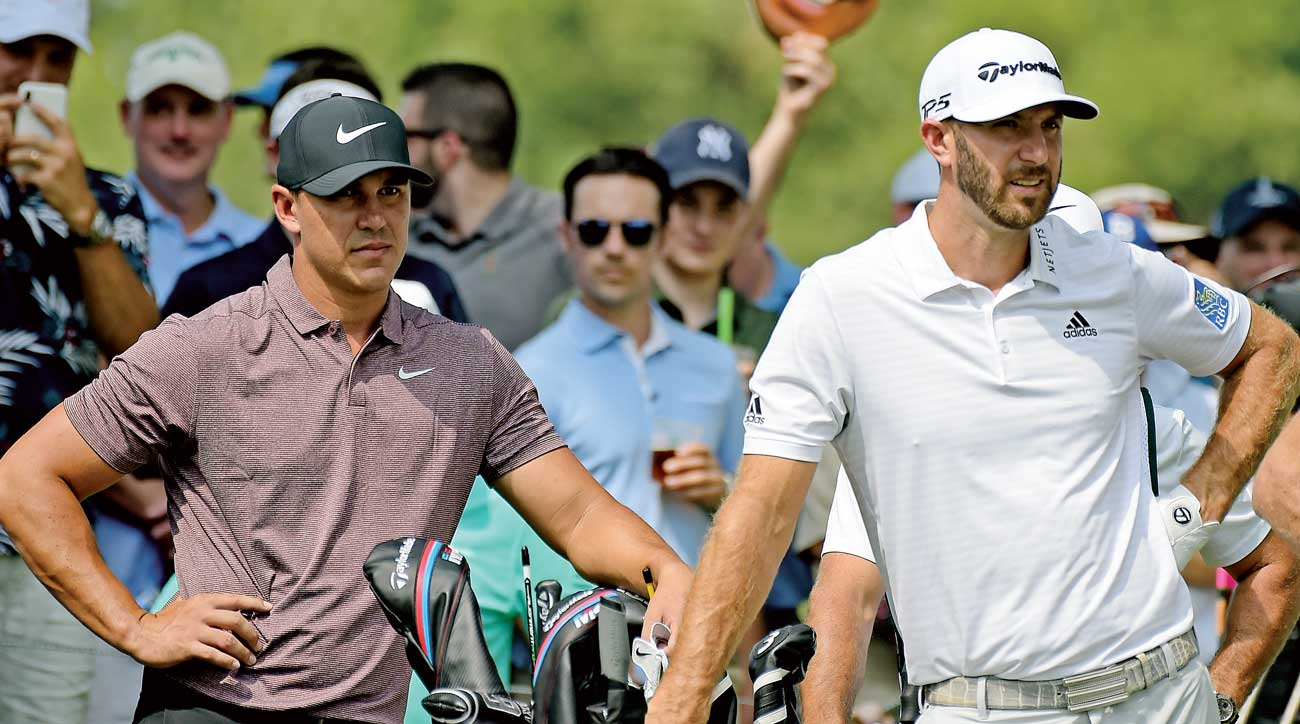 brooks koepka dustin johnson