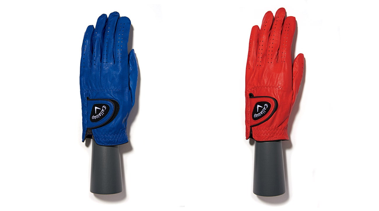 Callaway's Opticolor golf gloves.