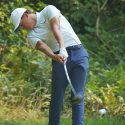 Cameron Champ hits his drive on the seventh hole during the first round of the WinCo Foods Portland Open.