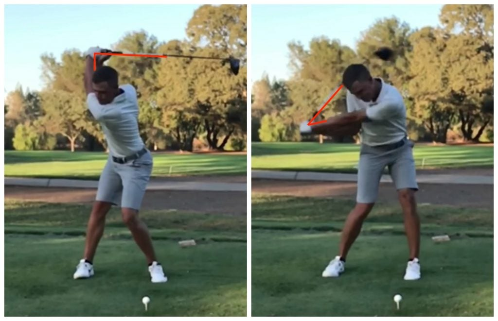 3 pictures explaining why Cameron Champ drives the ball so far