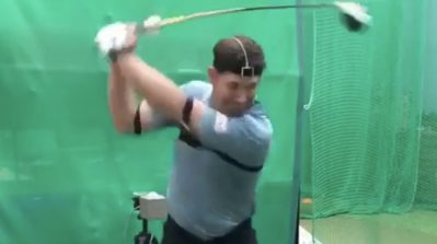 Breaking down the bizarre foot action on this Padraig Harrington golf swing
