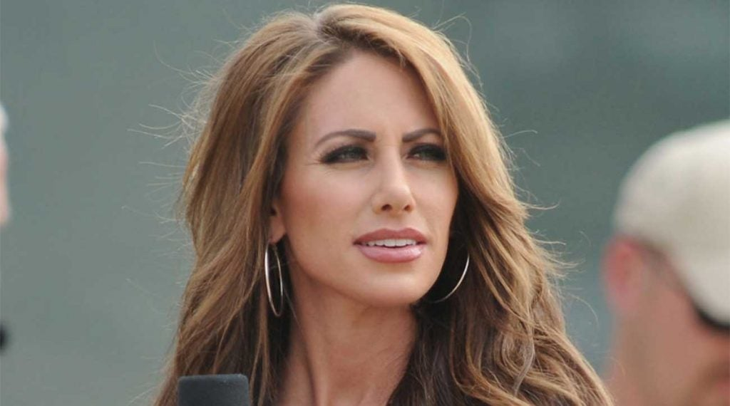 Holly Sonders is no longer a part of Fox Sports golf broadcasts.