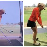ashley mayo golf swing before after