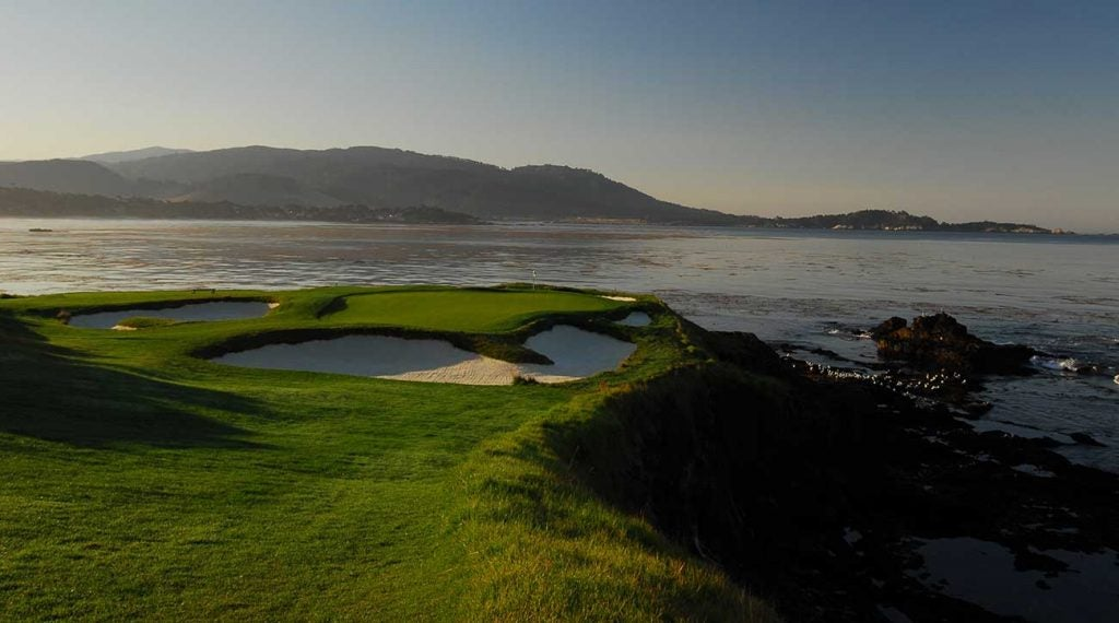 For some holes, like the 7th at Pebble Beach, forgetting a camera is not an option.