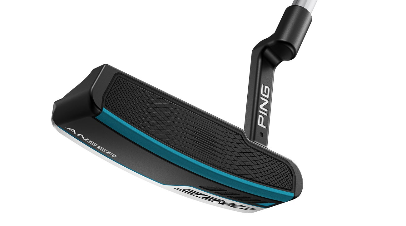 The Ping Sigma 2 Anser putter in stealth colors.