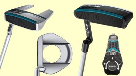 Ping's Sigma 2 putters feature adjustable length shafts that can be altered with Ping's adjust tool.