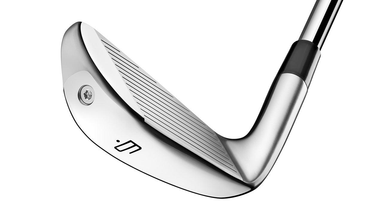 A view of the face of TaylorMade's new P760 iron.