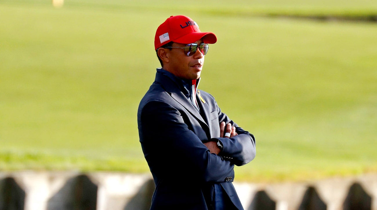 Tiger Woods will lead his Presidents Cup team to Melbourne a year from now.