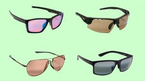 These four sunglass models feature golf-friendly lenses perfect for the course. Learn more below.