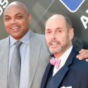 Charles Barkley, Ernie Johnson, the match
