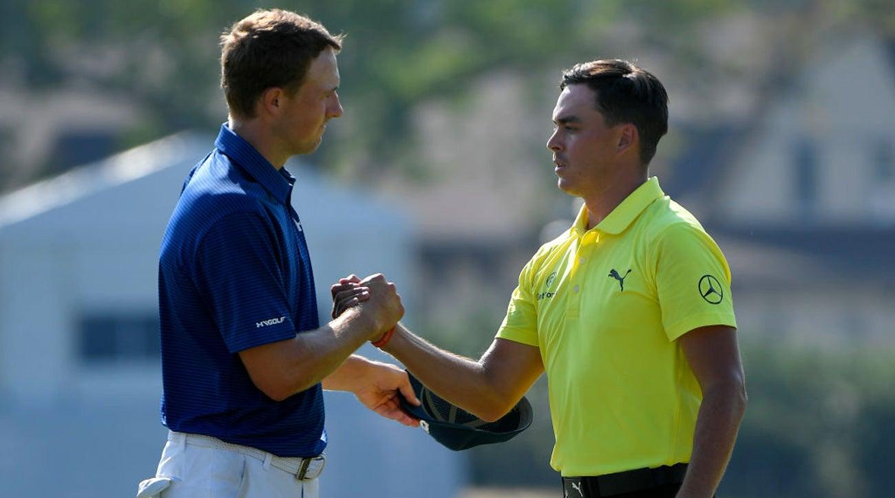 Jordan Spieth Rickie Fowler Mayakoba Golf Classic