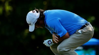 Tim Clark golf injuries