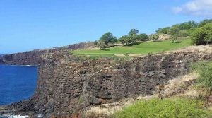 Manele Golf Course, 12th hole