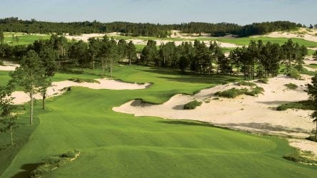 Mammoth Dunes at Sand Valley 16th hole.
