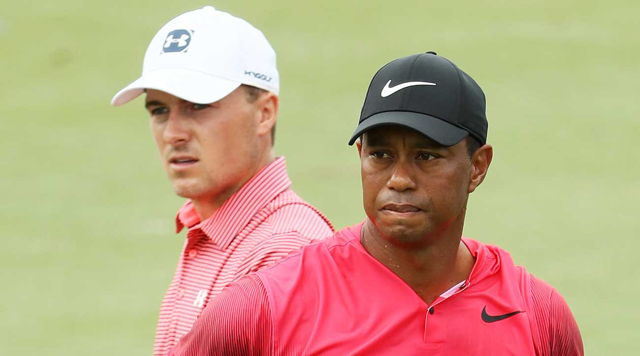 Tiger Woods has passed Jordan Spieth in the Official World Golf Ranking.